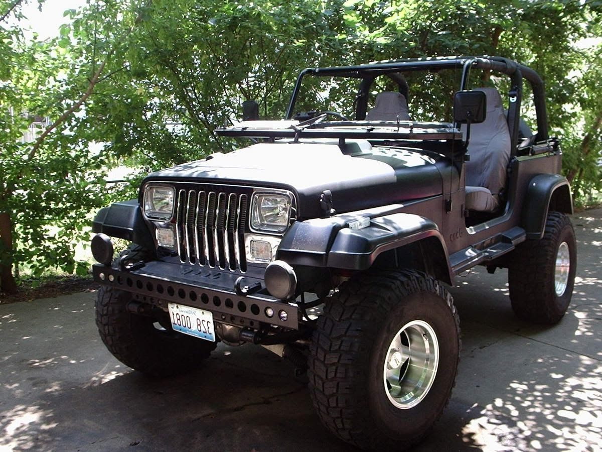 Matte Black Jeep Wrangler Yj Jeep Wrangler Yj Jeep Wrangler
