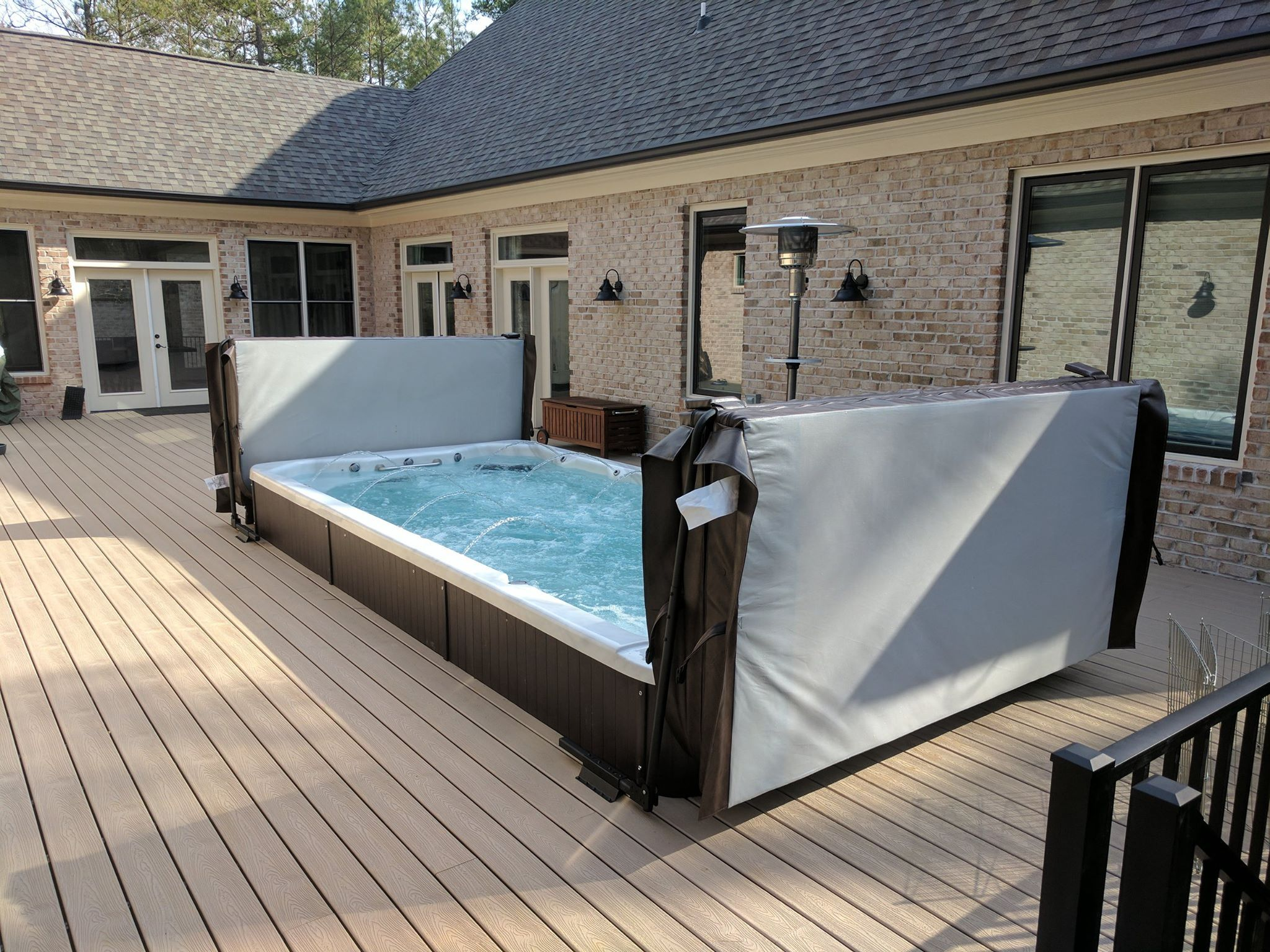 Pin By Lisa Cutler On Landscape Ideas Luxury Spa Spa Design Swimming Pools