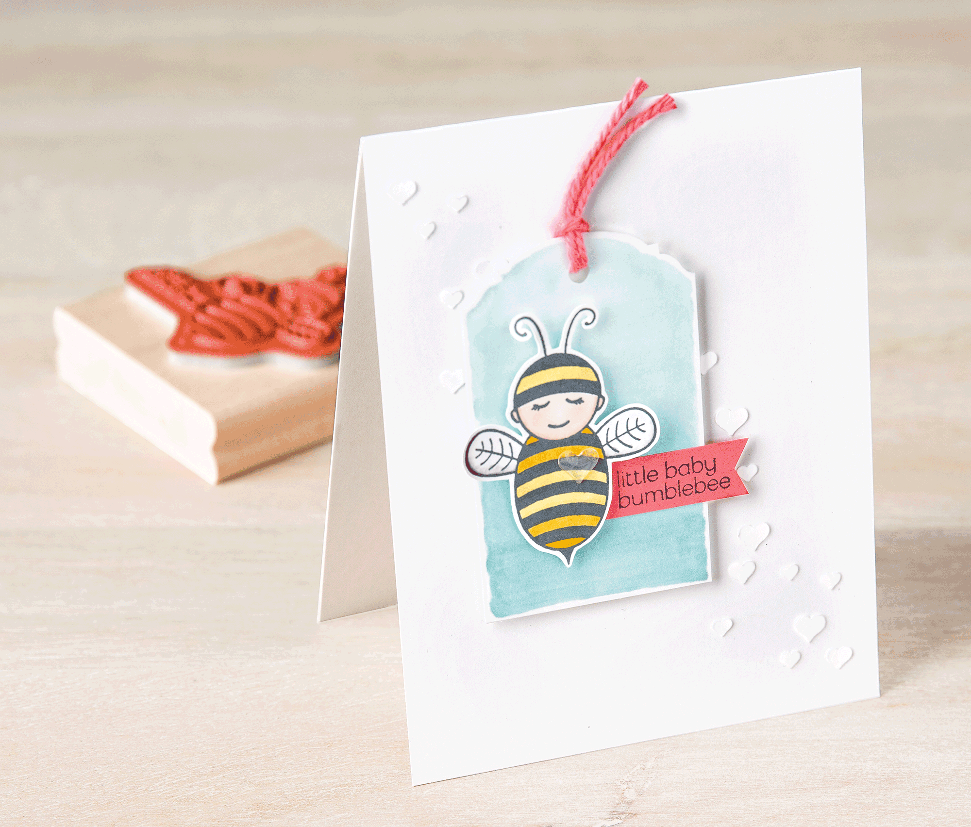 the Baby Bumblebee stamp is so sweet.  Stampin' Up!