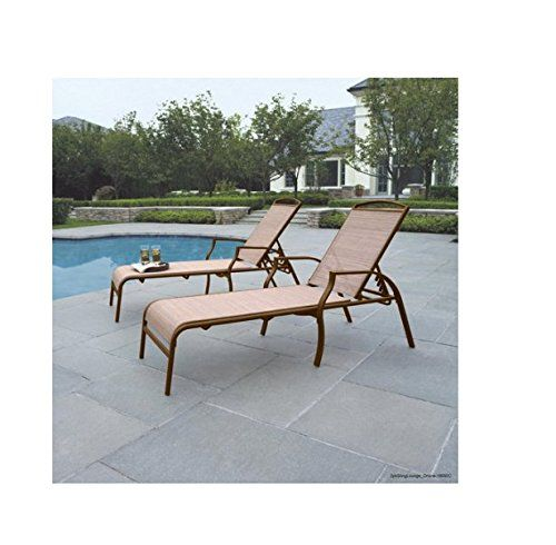 Sand Dune Chaise Lounges Tan Set of 2 Put These Chaise Louge Chairs By the Pool  sc 1 st  Pinterest : where to put a chaise lounge - Sectionals, Sofas & Couches