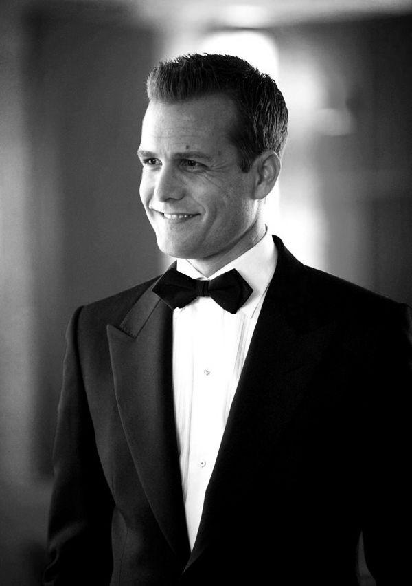 1ef7912f232 Harvey Specter - I covet that bow-tie