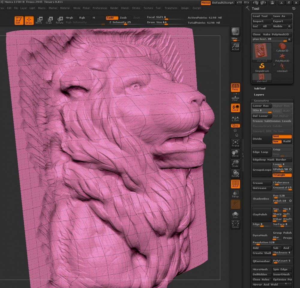 Vector Displace Maps Zbrush -> Modo | Zbrush techniques | Zbrush