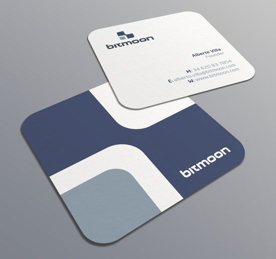 Square Business Cards Print Peppermint Square Business Cards Printing Business Cards Square Business Card