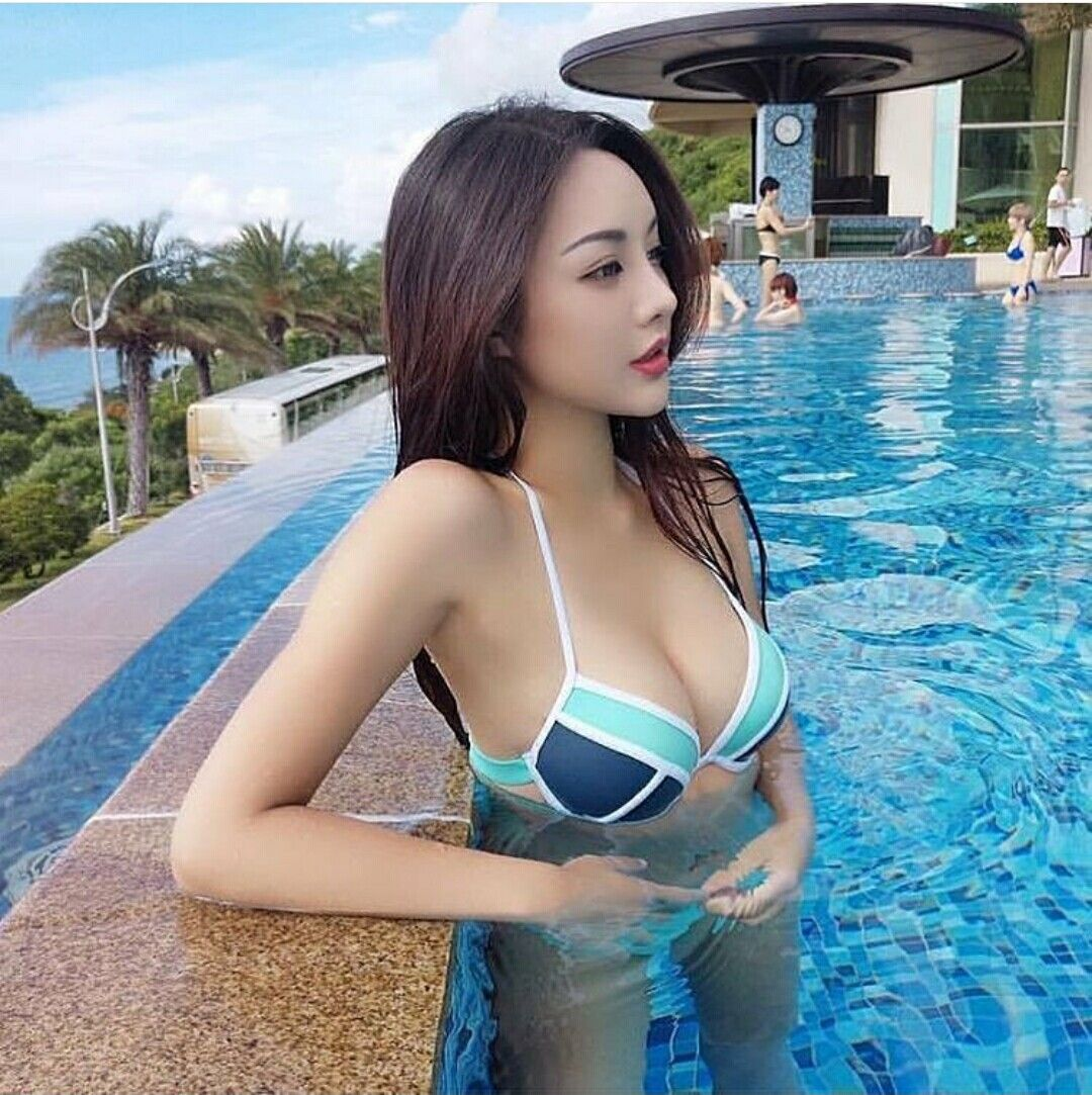 Teen in bathing babe thai