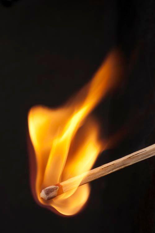 607, Wooden Match Stick on Fire,Fire Decor,Flame Decor ...