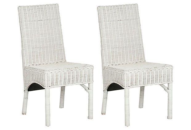 Milena Side Chairs, Pair on OneKingsLane Beach House