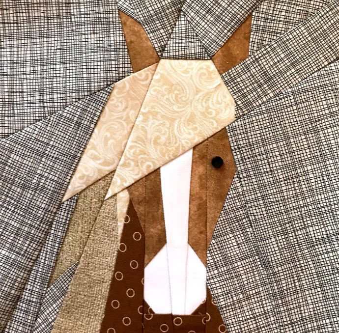 Paper Pieced Horse