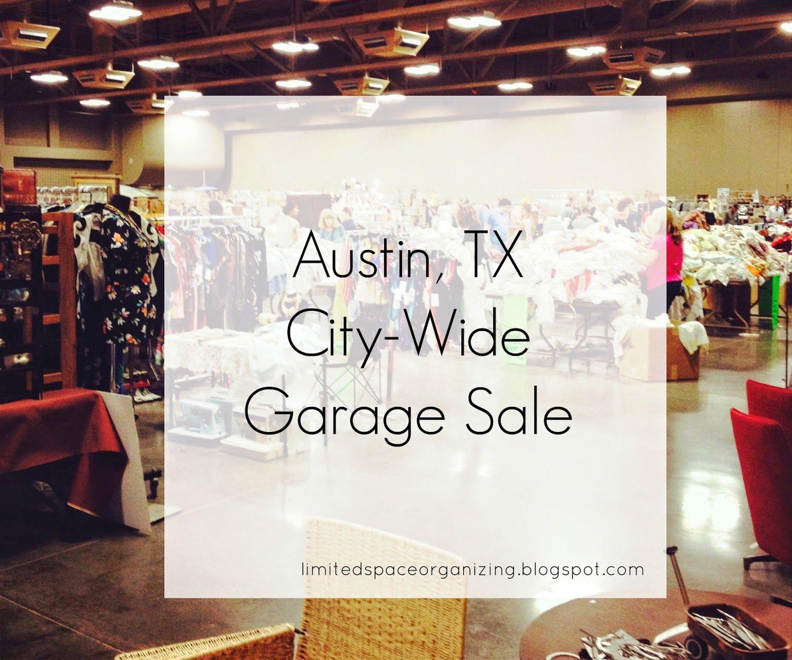 Austin, TX CityWide Garage Sale Visit Austin Garage