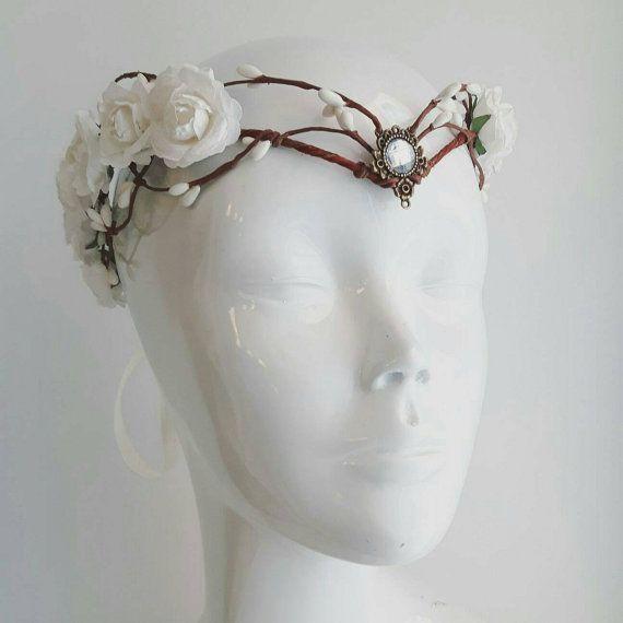 Elven bride tiara - elven tiara - fairy circlet | Reihenfolge ...
