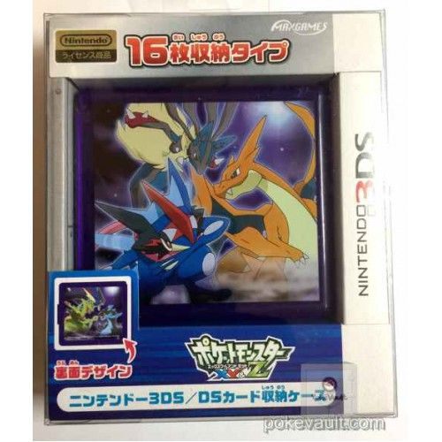pokemon center 2016 nintendo 3ds ash greninja mega lucario mega
