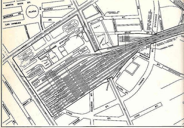 Union Station Area Map 1937 Model Railway Track Plans Area Map Model Train Layouts