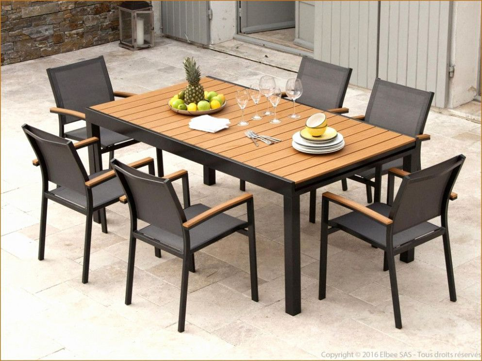 alfresco dining table welded furniture