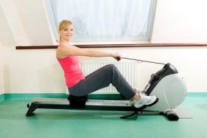 losing weight with a rowing machine  rowing machines gym