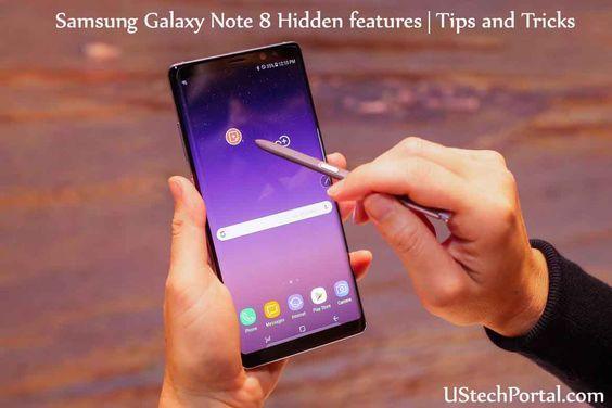 Samsung Galaxy Note 8 Hidden Features   Galaxy note 8 ...