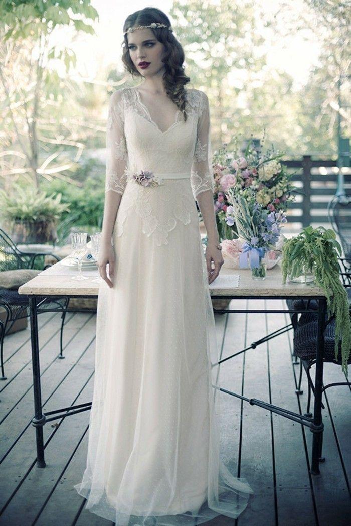 La robe de mariée vintage - les meilleures