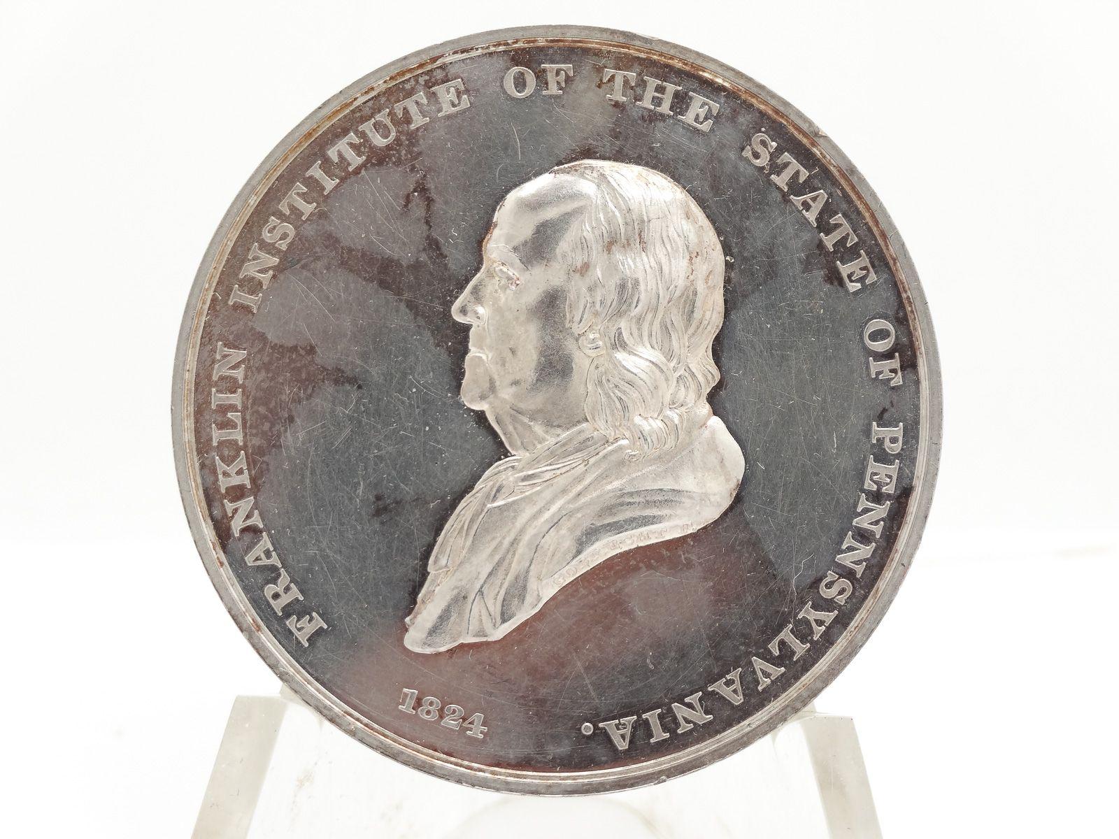 1827-Franklin-Institute-Reward-of-Skill-Ingenuity-Silver-Medal-Gobrecht