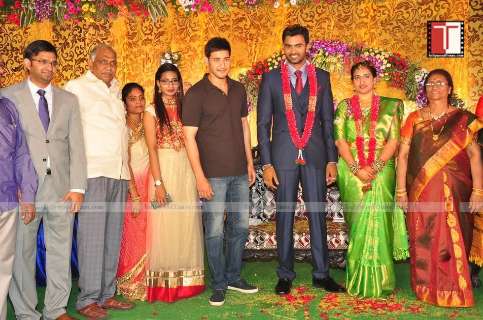 Actor Shiva Wedding Reception Photos Tollywoodtimes