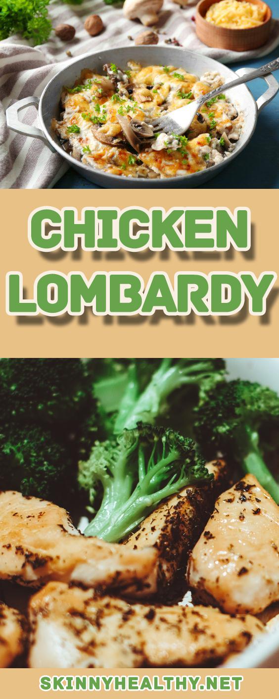 Chicken Lombardy Recipe Easy Tasty Recipes In 2018 Pinterest