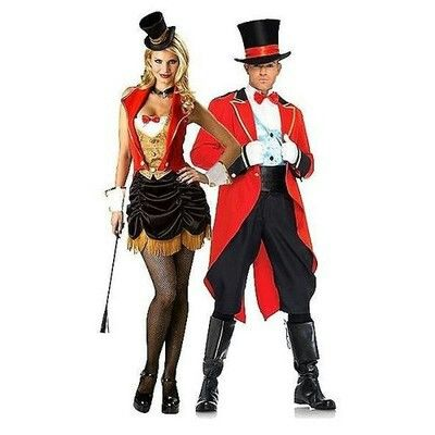 Circus couple  sc 1 st  Pinterest & Circus couple | Fossa | Pinterest | Costumes and Halloween costumes