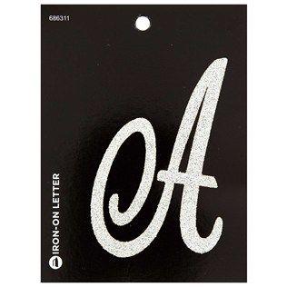 1 49 3 5 X2 On Backing Large Glitter Iron On Monogram Letter A Iron On Letters Lettering Monogram Letters
