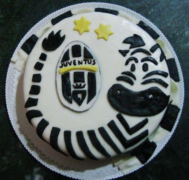 idee decorazione torta della juventus - torta zebrata   trucchi ... - Decorazioni Torte Juventus