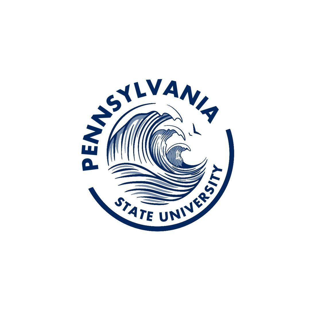Psu White Claw Sticker Penn State College Logo Stickers [ 1080 x 1080 Pixel ]