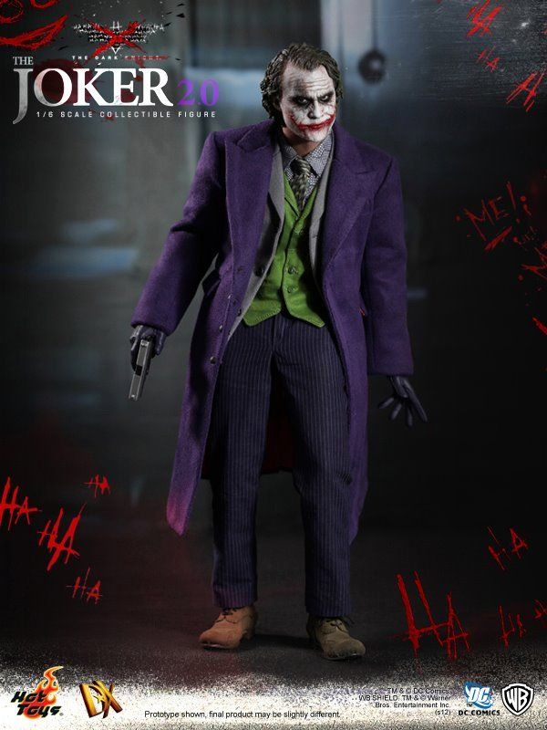 Hot Toys DX Joker 2.0 | Hot toys joker, Batman the dark knight ...