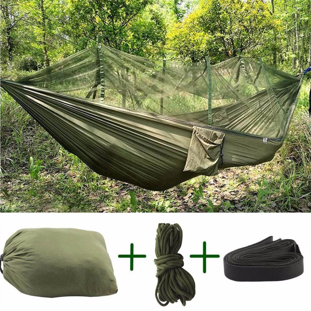Vert Supplémentaire Haute Portable Force Tissu Moustiquaire Camping