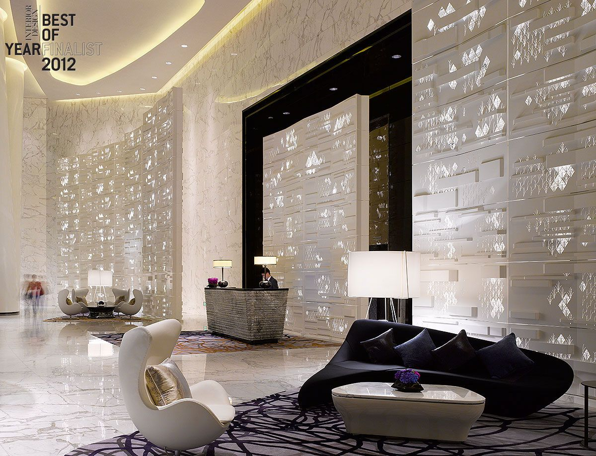 ambiance interior design. Pictured: A Seating Area At The Four Seasons Guangzhou, China, Has An Otherworldly Feel And Shimmery Ambiance. Interior Design Ambiance N