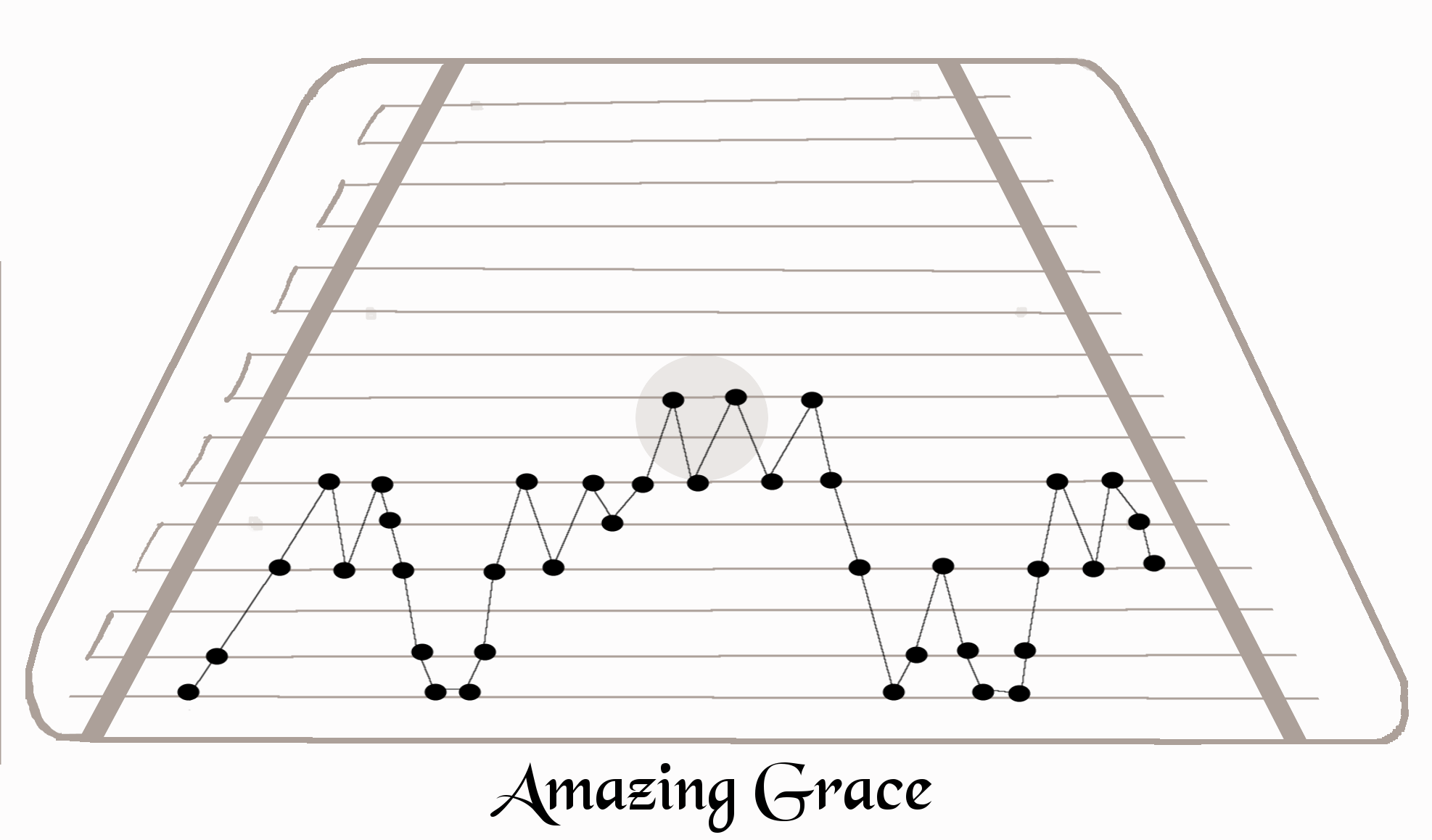 graphic relating to Free Printable Lap Harp Music Cards known as Outstanding grace\