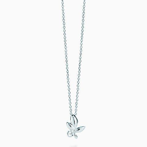Pendente Olive Leaf Paloma Picasso® in argento, mini.