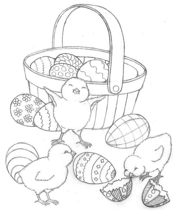 Cute Easter Eggs Coloring Pages   Free Download Coloring Page ...