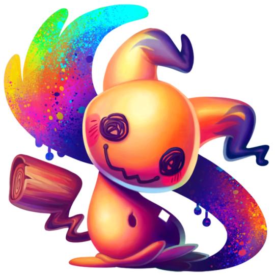 Alolan Pokemon Stickers made by Qesque -