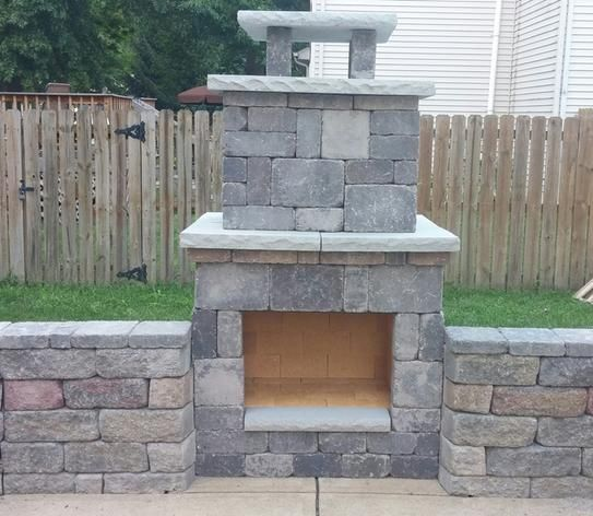 Necessories Bluestone Compact Outdoor Fireplace 4200038