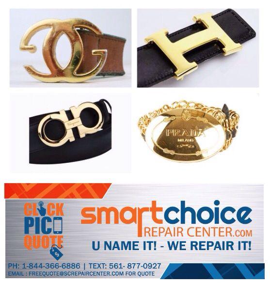 types of belt buckles. we repair and refurbish all types of belt buckles (polish your old scratched t