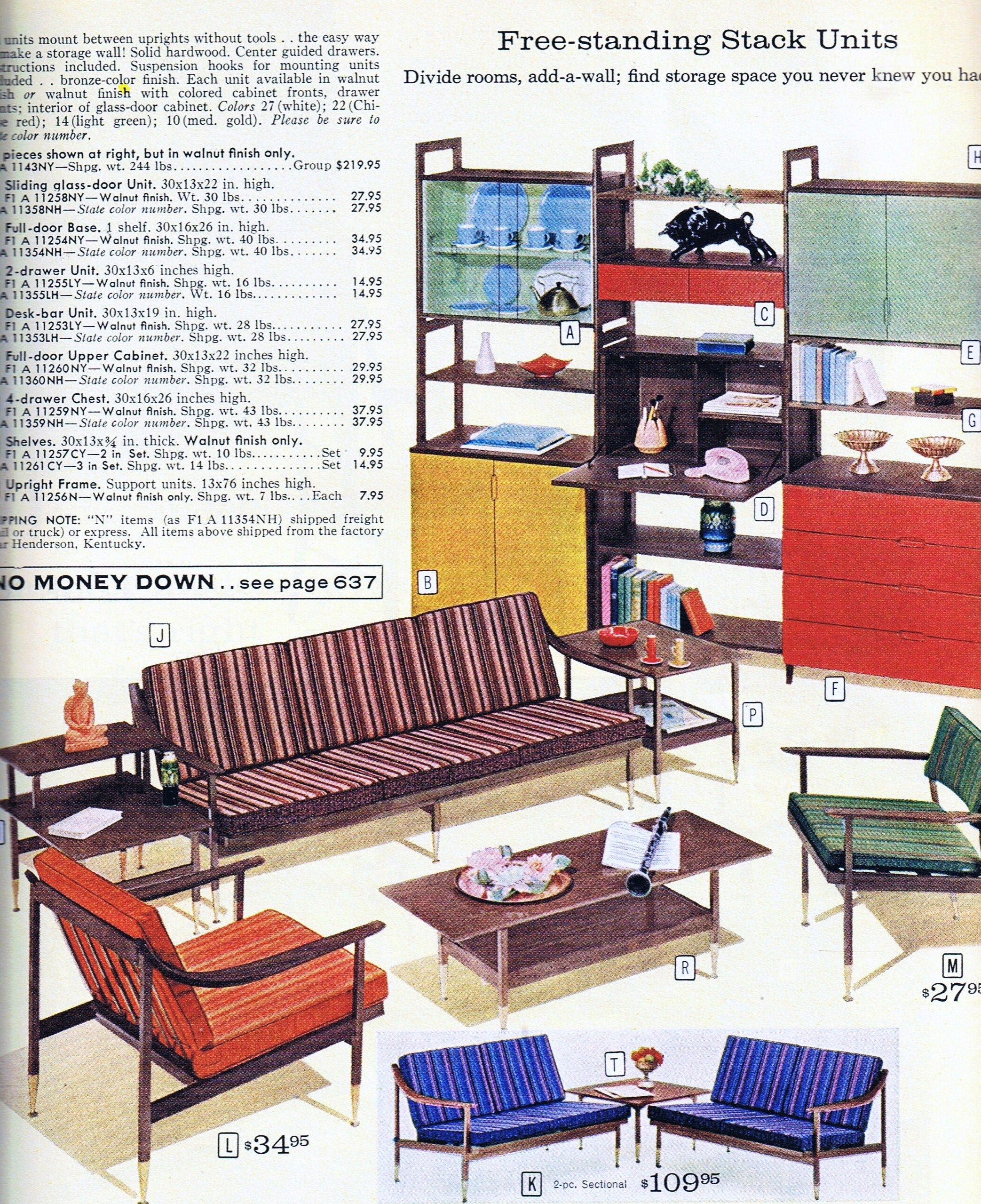 Sears Catalogue 1968 I Never Would Have Associated Sears With Danish Modern Mid Century Modern Interiors Bedroom Furniture Sets Mid Century Modern Design #sears #living #room #furniture