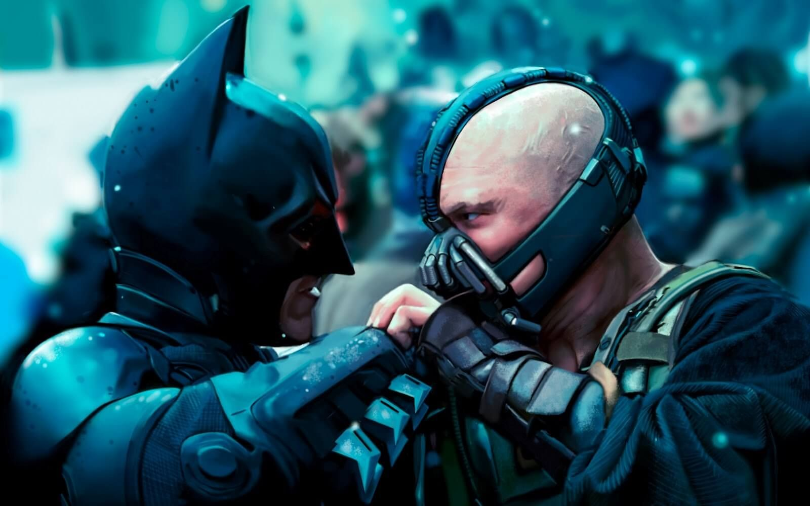 Batman vs bane wallpaper batman pinterest batman vs - Bane wallpaper ...