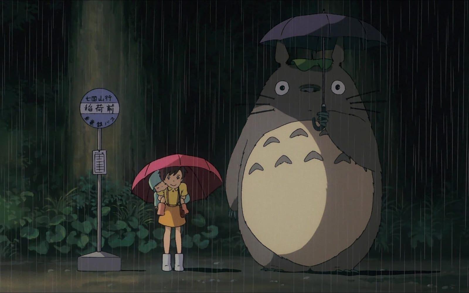 Mi Vecino Totoro 1988 Studio Ghibli Hayao Miyazaki Totoro