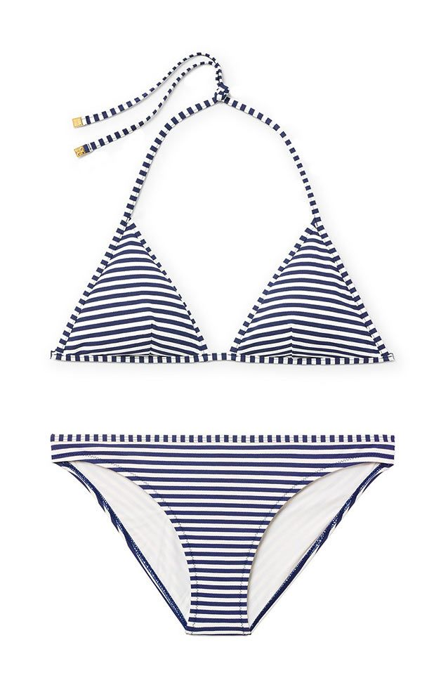 77c1379fb4e Tory Burch Clemente Bikini | MY CLOSET | Patrón de bikini, Moda, Bikinis