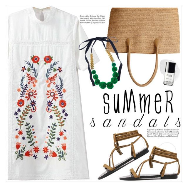 """""""The Cutest Summer Sandals"""" by teoecar ❤ liked on Polyvore featuring Marni"""