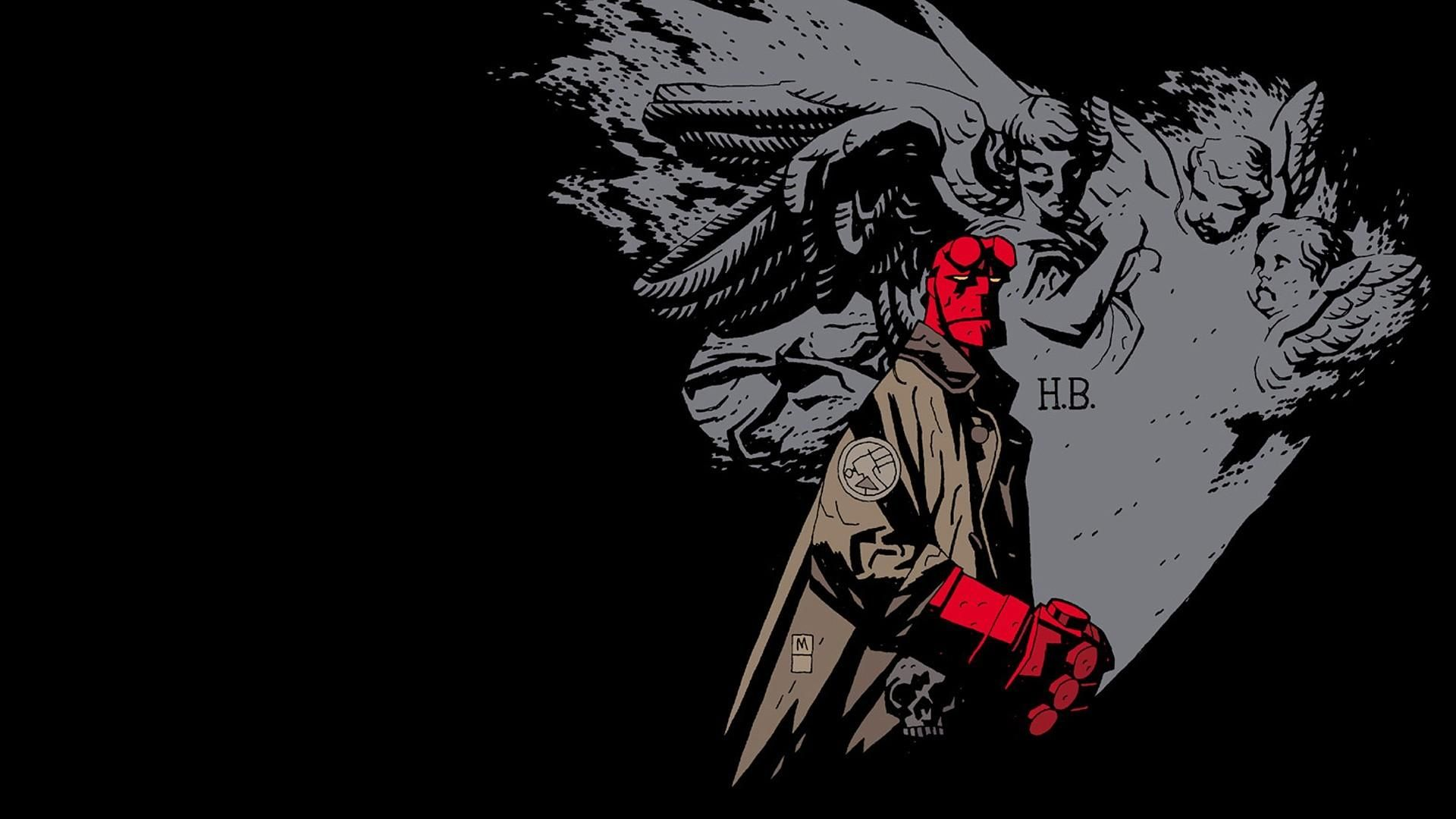 Undefined Hellboy Wallpapers 40 Wallpapers Adorable