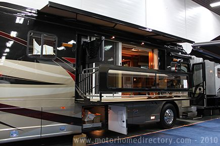 This Is Getting Carried Away Patio Doors And A Deck On An Rv
