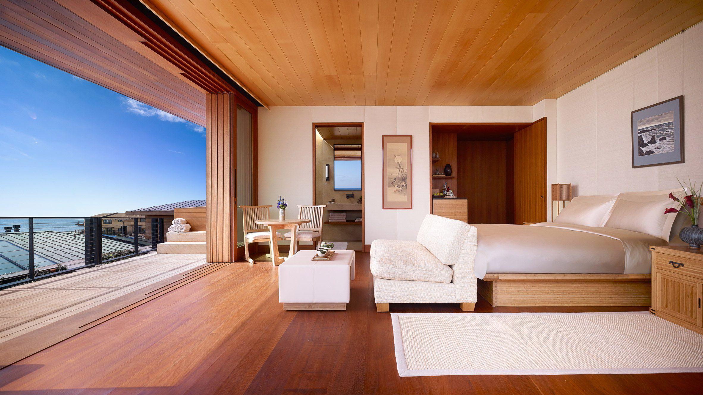 Studio Pch And Montalba Architects Converted A 1950s Beachfront Hotel Into U Ryokan Malibu The