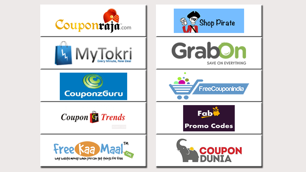 Top 10 Coupon Websites India Here Is The List Of Top 10 Coupon Sites Of India Which Allows You To Buy Without Having To Coupon Websites Coupons Coupon Sites
