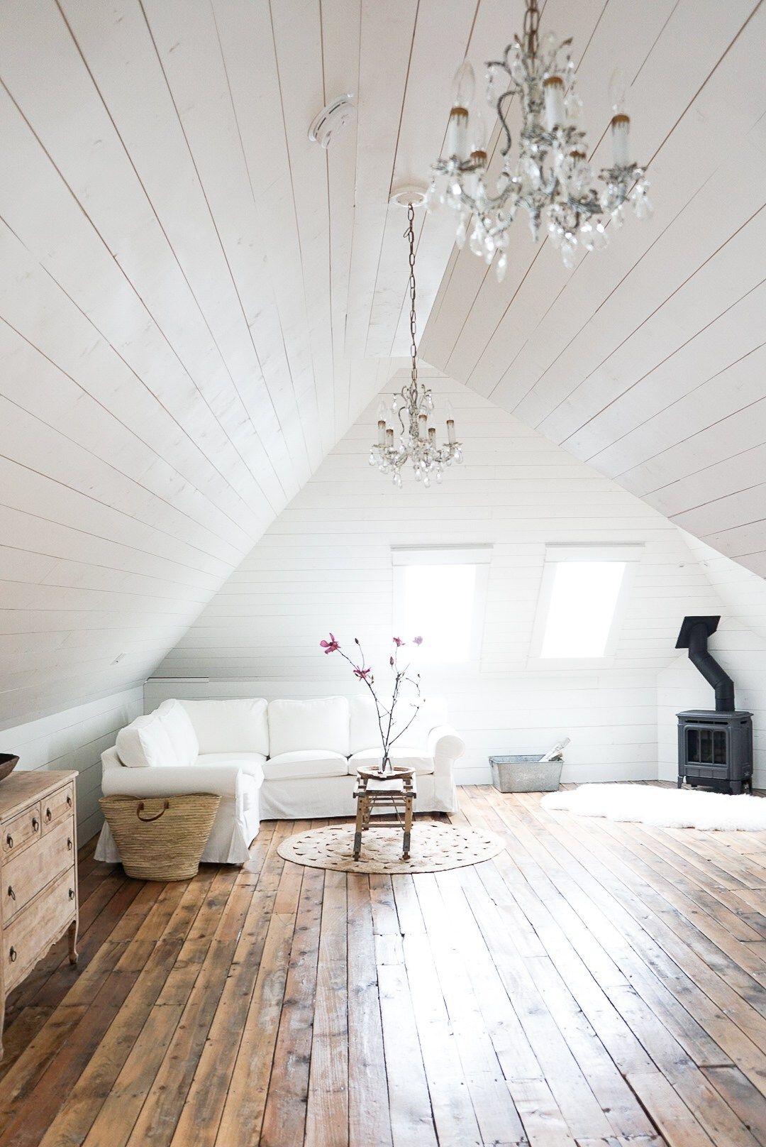 white attic space magnolia beatie coffee table Attic