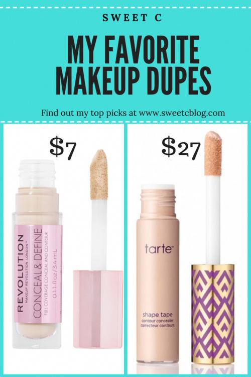 My Favorite Makeup Dupes ConcealerDupes bestmakeuptools