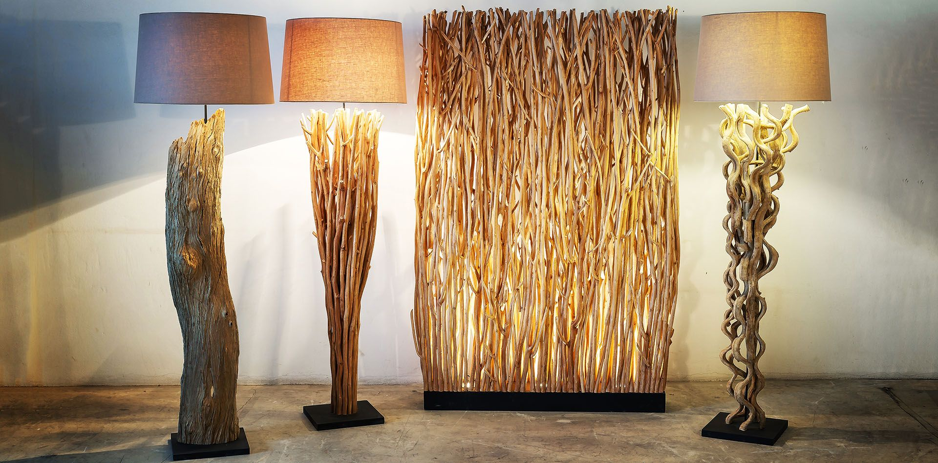 Branches vine and driftwood floor lamps new lighting collection branches vine and driftwood floor lamps aloadofball Choice Image
