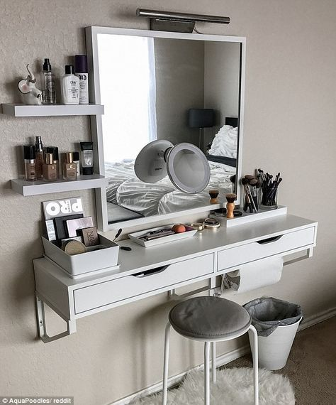 Instagram Worthy Ways To Organize Your Make Up Room