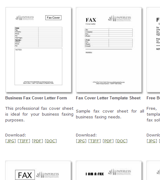 Fax Templates For The Computer Pinterest Cover Sheet Template