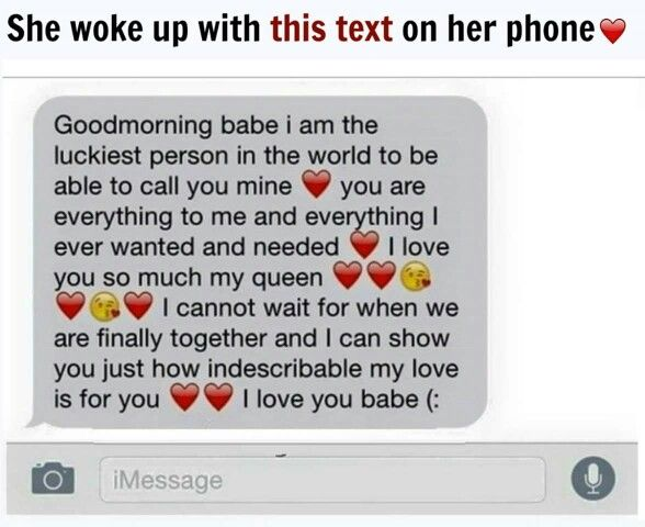 Remember When You Would Wake Up To Txt Like This Love Text To Boyfriend Cute Boyfriend Texts Cute Text Messages